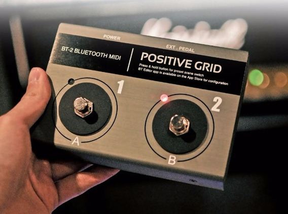 Pedal Bluetooth - Positive Grid Bt2 - Exclusivo No Brasil