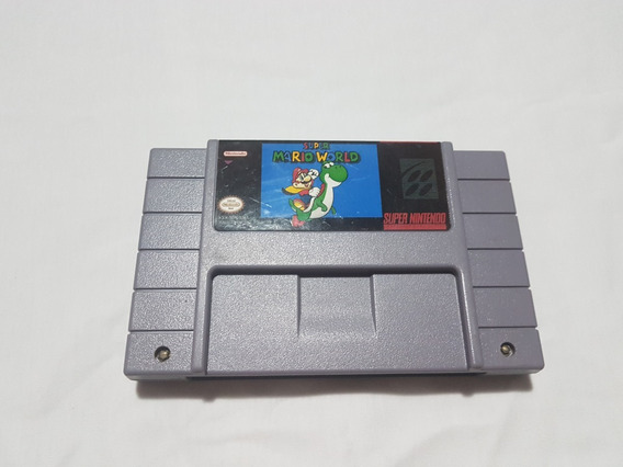 Super Mario World Snes Original Salvando