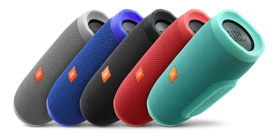 Speaker Jbl Charge3 Bluetooth Ipx7 Varias Cores Frete Gratis