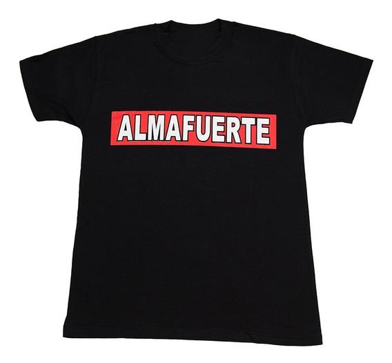 Almafuerte Remera Algodon Premium - Ricardo Iorio - Envios A Todo El Pais - Walk On Hell Tienda