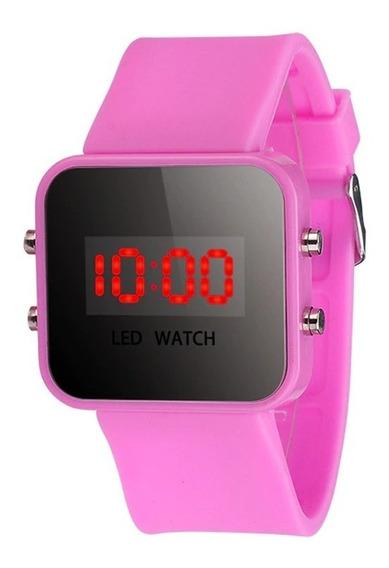 Relógio De Criança Meninas, Meninos Led Digital Em Promoção
