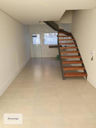 Casas Excelentes Em Condomínio Fechado, 2 Dormitórios Com Suíte - 72m2 - Vl0006