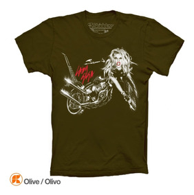 Lady Gaga Playeras Bron This Way Album Cover Little Monsters