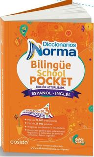 Diccionario Bilingüe Pocket Norma Ingles English- Spanish