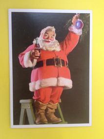 Cartão Postal Natal Da Coca-cola Do Papai Noel Original (05)