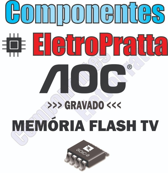 Memoria Flash Tv Aoc Le32w234d Chip Gravado W25q32