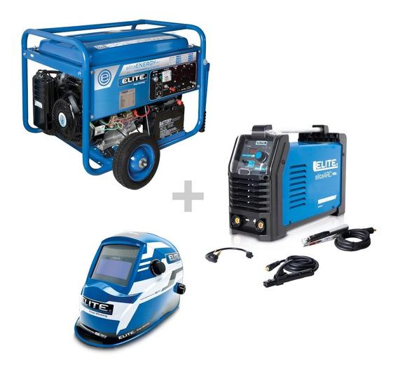 Generador Portátil De 6.500w+inversor180amp+caretafull Color