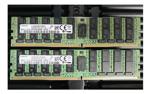 Memoria Serv Samsung 64gb 4drx4 Pc4-2400t M386a8k40bmb-crc5q