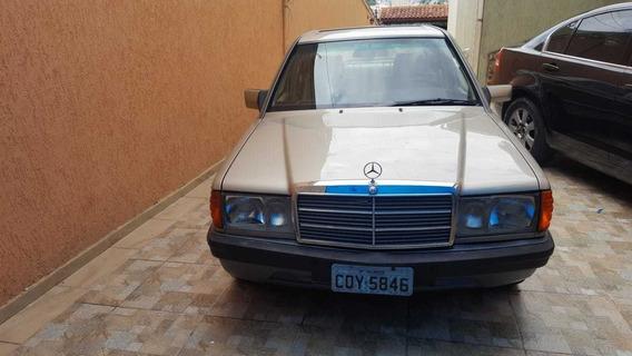 Mercedes 190e 1988 2.6 Raro Exemplar, Injetada