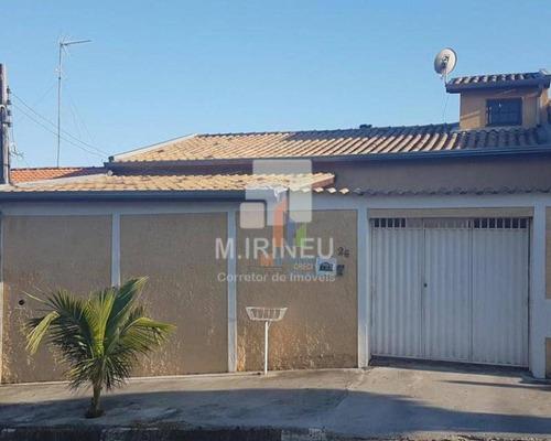 Casa Com 3 Dormitórios À Venda, 100 M² Por R$ 360.000,00 - Conjunto Habitacional Parque Itajaí - Campinas/sp - Ca0185