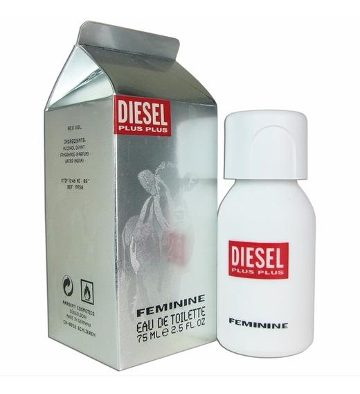 Perfume Diesel Plus Plus Feminino 75 Ml