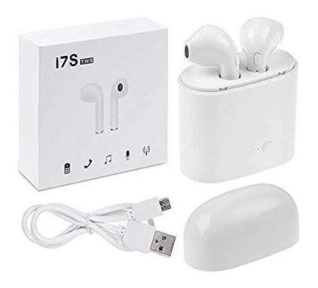 Par De Fones De Ouvido Bluetooth I7 Twins + Carregador Portá