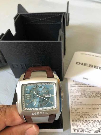 Relógio Diesel Original Com Nota