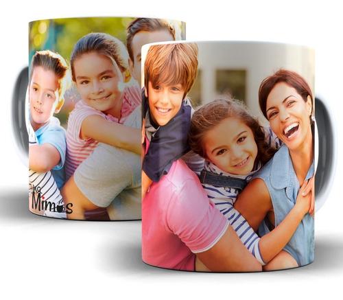 2 Unid. Caneca Personalizada De Porcelana Com Sua Foto