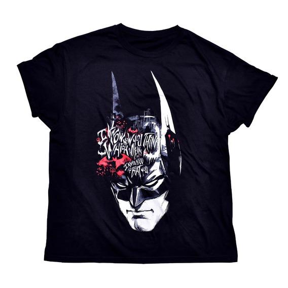 Playera Batman I Know How You Think Dc Comics