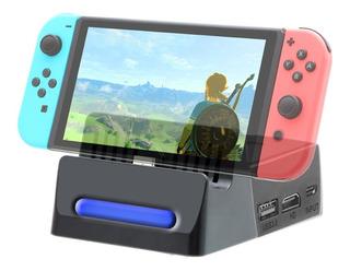 Mini Dock 2 Base Portátil Nintendo Switch Cargador Hdmi 4k
