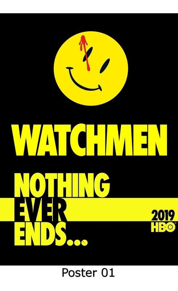 Poster Cartaz Séries Watchmen S01 20x30, 01)