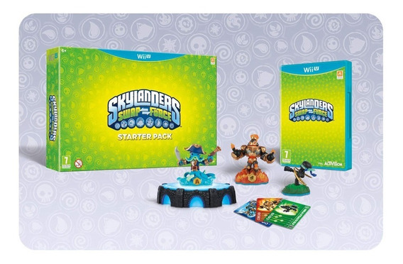 Skylanders Swap Force Wiiu Stater Pack