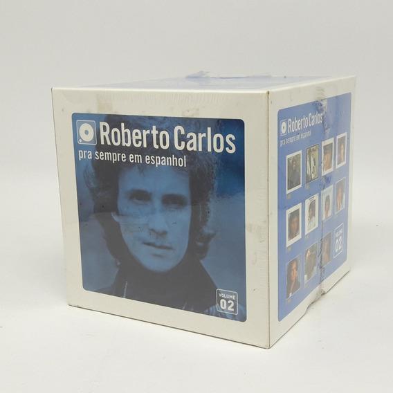 Box Cd Roberto Carlos Prá Sempre Em Espanhol Novo Lacrado