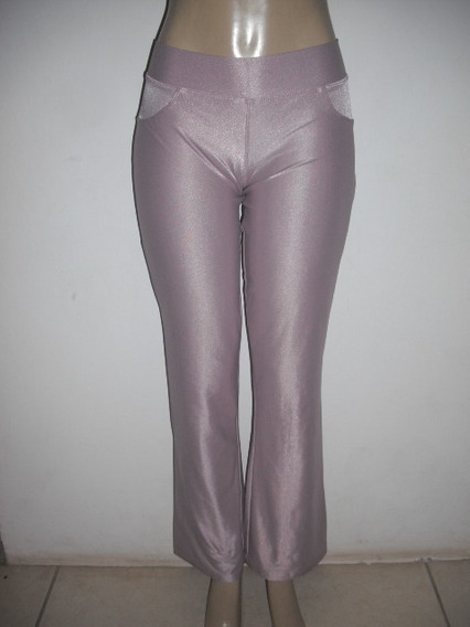 Calça Hot Pants Disco Lilas G G Usado Bom Estado