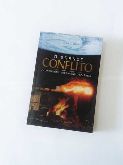 Livro O Grande Conflito Brochura Ellen G. White Adventista