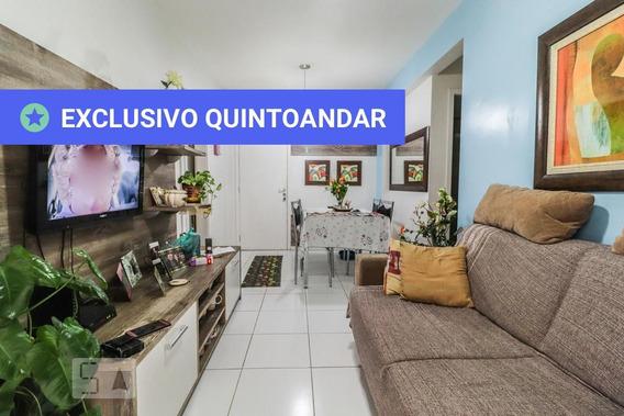 Apartamento No 1º Andar Com 2 Dormitórios E 1 Garagem - Id: 892958232 - 258232