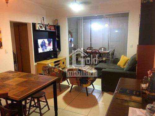 Apartamento Com 2 Dormitórios À Venda, 81 M² Por R$ 360.000,00 - Nova Aliança - Ribeirão Preto/sp - Ap4220
