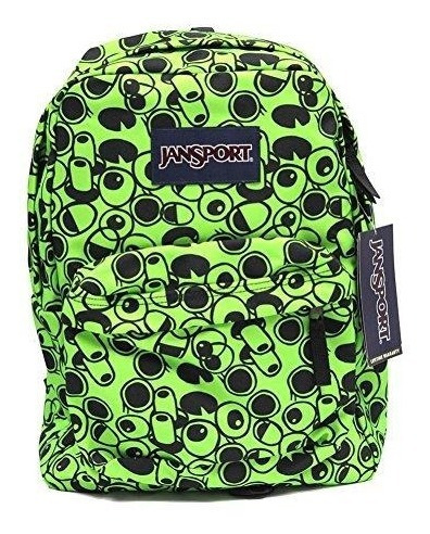 Mochila Jansport De 25 Lts. Super Break (zap Green Double V)