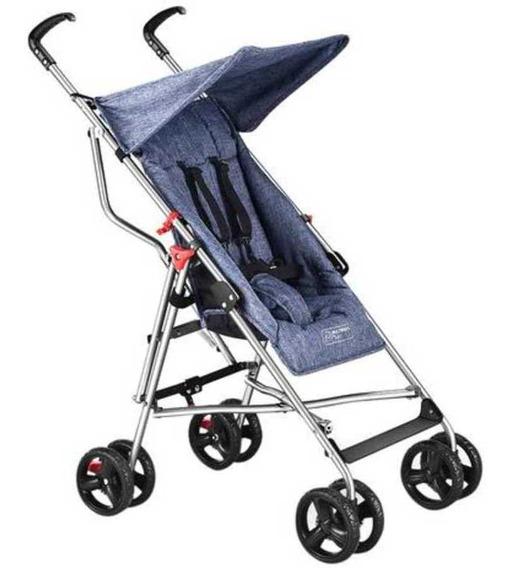 Carrinho De Bebê Guarda-chuva Pocket Azul - Multikids Baby