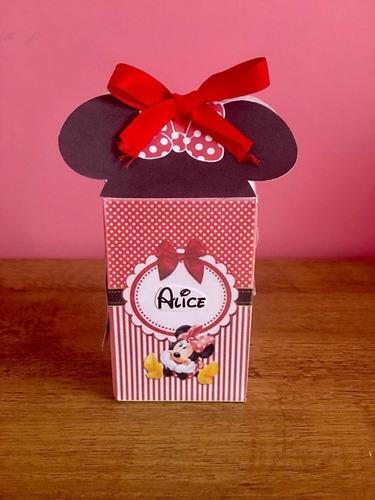 Imagem 1 de 4 de 10 Caixinhas Milk Personalizada Tema Minnie