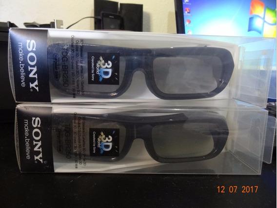 Oculos 3d Sony Ativo Recarregável Tdg-br250