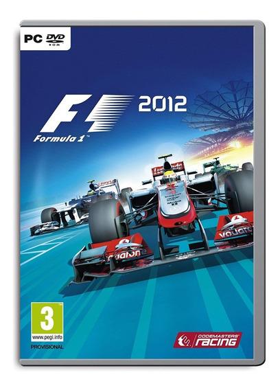 Jogo Pc Dvd - F1 2012 - Lacrado - Game Pc Dvd