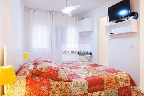 Imagem 1 de 19 de Studio Mobiliado Com 1 Dormitório Para Alugar, 28 M² Por R$ 2.200/mês - Vila Buarque - São Paulo/sp - St0111