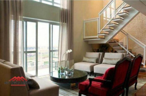 Cobertura Com 3 Dormitórios, 300 M² - Venda Por R$ 1.908.000,00 Ou Aluguel Por R$ 20.000,00/mês - Vila Ema - São José Dos Campos/sp - Co0015