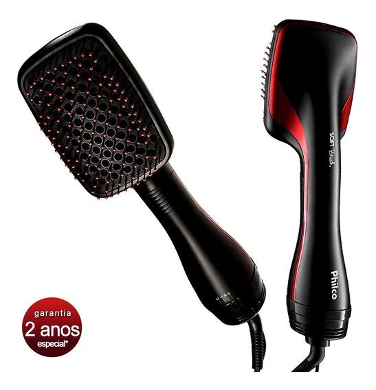 Escova Secadora 1200w Soft Brush Philco Com 2 Anos Garantia*