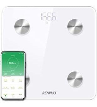Renpho Smart Body Fat Scale Bluetooth Digital Bathroom Scale