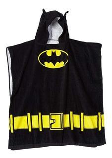 Toalla Poncho Batman Alberca Niño