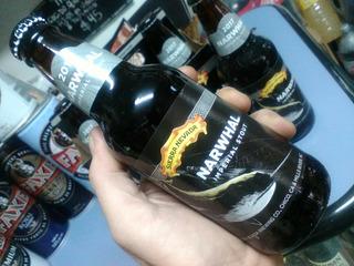 Cerveza Sierra Nevada Narhwal Imperial Stout Importada Usa