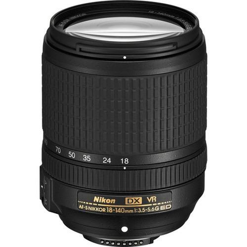 Imagem 1 de 3 de Nikon Af-s Dx 18-140mm F/3.5-5.6g Ed Vr - Lj. Platinum