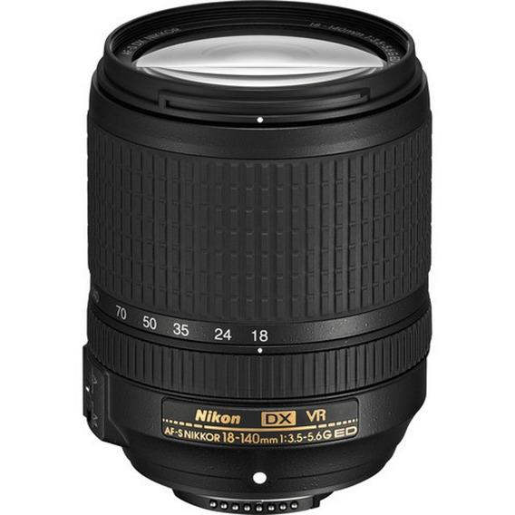 Nikon Af-s Dx 18-140mm F/3.5-5.6g Ed Vr - Loja Platinum