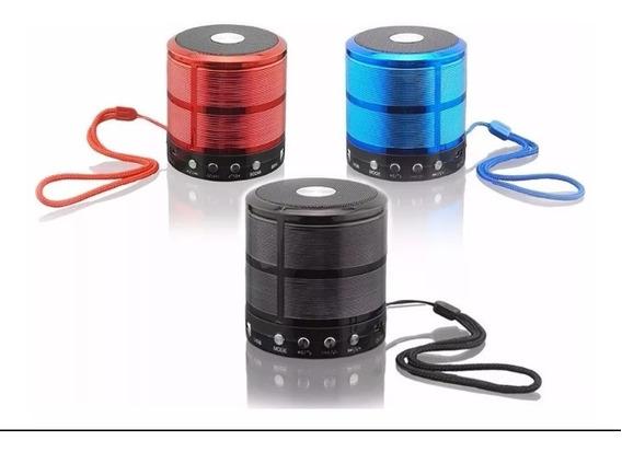 Mini Caixa Caixinha De Som Portátil Com Bluetooth