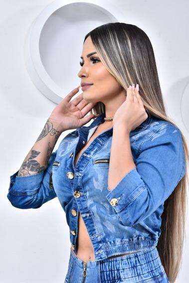 Jaquetinha Cropped Rhero Jeans 56085