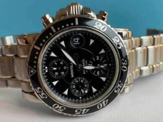 Montblanc Meisterstuck Xl Sport Diver Chronograph Auto 41mm