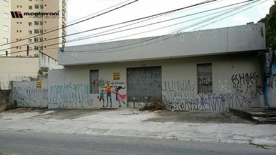 Terreno Para Alugar, 370 M² Por R$ 3.500/mês - Vila Independência - São Paulo/sp - Te0088