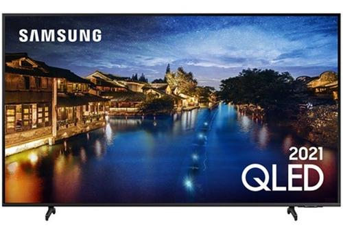 Imagem 1 de 4 de Smart Tv Samsung 55 Qled 4k Qn55q60aagxzd Modo Game Som Em M