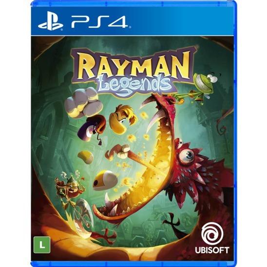 Jogo Rayman Legends Ps4 Disco Físico Original Português Br