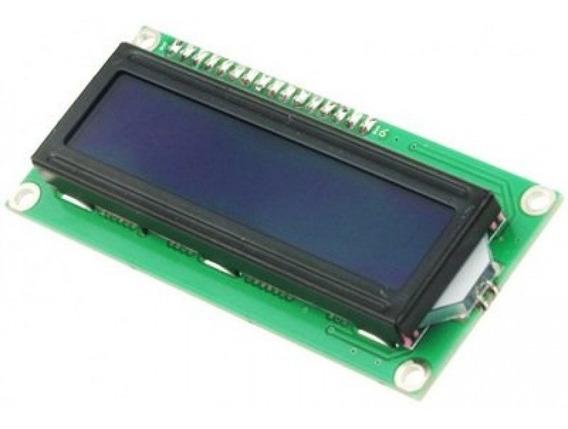Display Lcd 16x2 1602 Azul Com Modulo I2c - Arduino