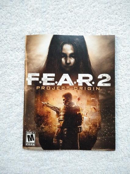 Manual Do Game Fear 2 Project Origin Ps3 ** Leia