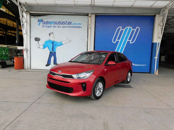 Kia Kia Rio Sedan 2018 4 Pts. Lx, Ta6, A/ac., Ve, Ra-15