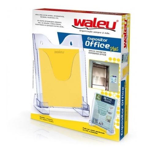 Expositor Office Plus Quadro Multiuso Cristal Waleu